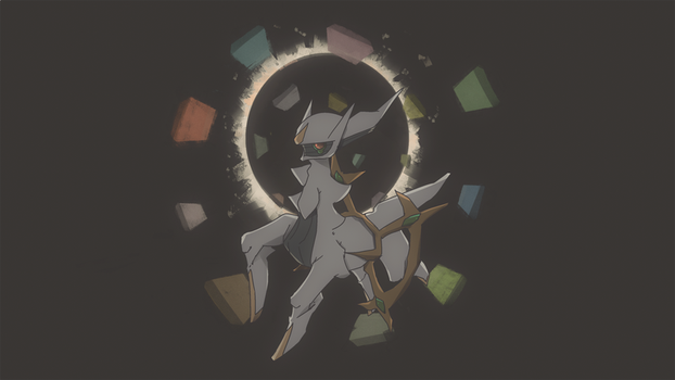 Mythical Pokemon Collection 07 - Arceus by AutobotTesla