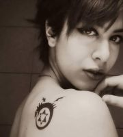 Ouroboros Tattoo (FMA) by Nicole-Rose