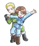 APH: Germany x Italy by Freaky-chan