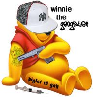 winnie the gangster by pivotanimator