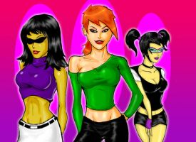FOP: The Dimmsdale Sirens by justchrishere