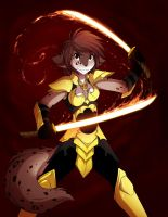 Dragonfire Kathrin by Twokinds