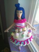 Cupcake doll by jelc85