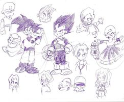 Dragon Ball a lo Dragon Fall by Argahal