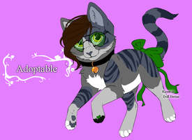 Kitty Adoptable :CLOSED: by Sesshomaru-XD-13