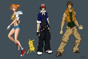 Pokemon Heroes by TheDeviantArchitect