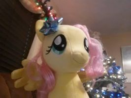 Fluttershy by the tree! by Chibi-Rainbow