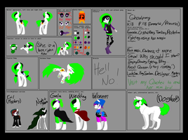 FINAL GHOULPONY REF SHEET by Ghoulpony