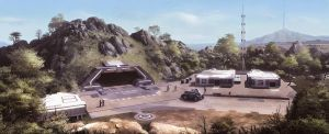 Hill Base by JamesLedgerConcepts