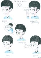 The Few Moods of Spock by MoodyBeatleGirl