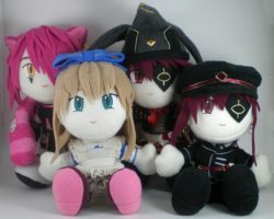 Alice plushie set by eitanya