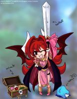 zielach:. little red dragon girl by tlwelker