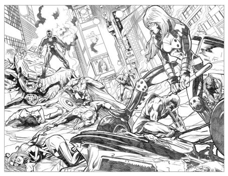 New Avengers 56 Sample Pg1+2.jpg by BrianAW