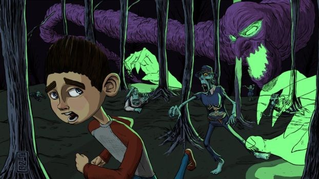 ParaNorman Fan Art by Line 09 13 2012 by LineDetail