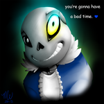 Undertale: if you keep going the way you are now.. by Mychelle