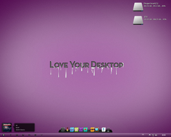 My new desktop by Nv1jk