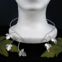 Forest Ivy Neck Torc by camias