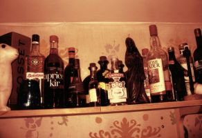 Alcohol by droool