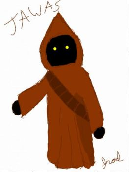 Quick Sketch - Jawa by jrodicon
