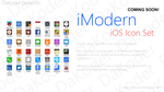 iModern iOS Icon Set - Preview by DaKoder