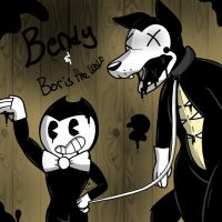 Bendy and Boris the Wolf (BaTIM) by YaoiLover113