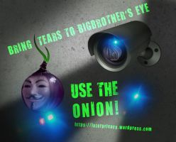 Bring tears to BigBrother's eye by OpGraffiti