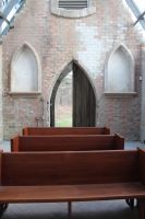 Glass and Stone Chapel Interior IV by Stock-Wulf