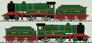LNER D11/1 liveries - 506 'Butler Henderson' by 2509-Silverlink