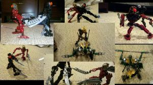Bionicle Battle by Insanity-C
