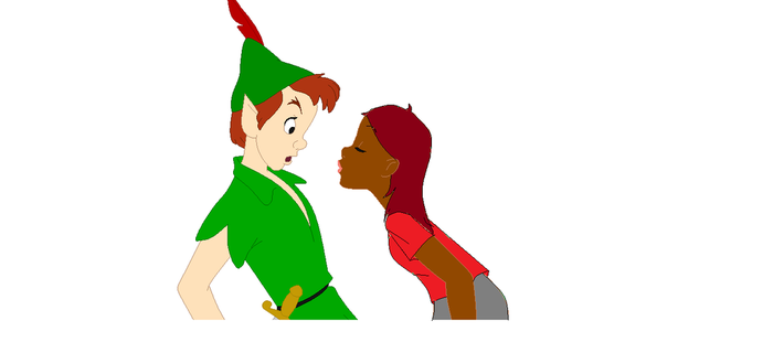 Me and Peter Pan by LaraLovatic