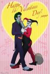 Happy Valentine's Day! Joker and Harley Quinn by Lady-Ha-ha