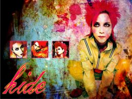 hide.:.Wallpaper.:.2nd by chibi-shinzo