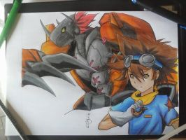 Digimon by LDrawings