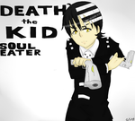 Death the Kid by GhostStoryMaster
