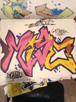 Graffiti Name Exchange With Mise by EnzowGraffiti