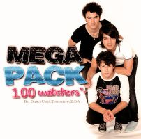 +MEGA PACK (100 Watchers*w*) by DanceUntilTomorrowJB