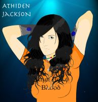 Percy Jackson OC Art Trade by UnobstructedView