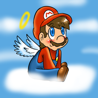 Little Angel mario by MariobrosYaoiFan12