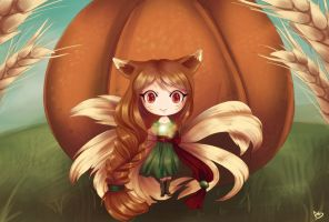Harvest Ahri by HatterMadness