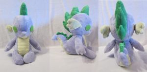 Giveaway Plush Spike by The-Night-Craft