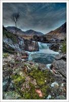 Glen Etive Falls by DL-Photography
