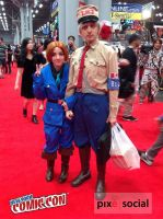 General Blue at New York Comic Con 2014 [NYCC] by PrinceZarbon