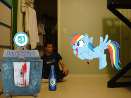 Rainbow Dash wants my quick revive by luisbonilla