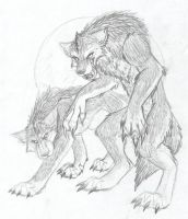Were-wolven Dreams by internalflames