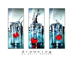 drowning. by herbstkind