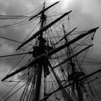 Masts Against of the Sky 01 by andras120