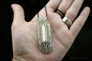 Spaceship V pendant by IMNIUM