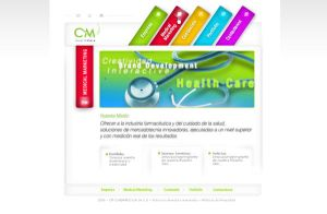 CM Health Care Website by tomasoliva