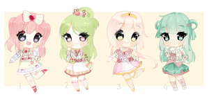 [CLOSED] Set priced adoptables by Shika-Adopts