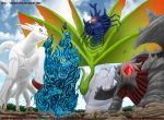 Tailed Beasts by CkayShirley